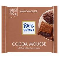 RITTER SPORT Czekolada mleczna nadziewana kremem kakaowym