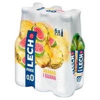 LECH Free Piwo bezalkoholowe ananas i guawa (6 x 0,33 l)