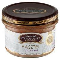 KUCHNIA STAROPOLSKA Premium Pasztet z oliwkami