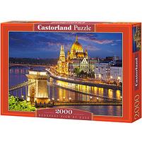 CASTORLAND Puzzle 2000 el. mix wzorów