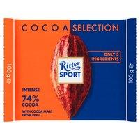 RITTER SPORT 74% Cocoa Czekolada gorzka