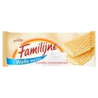 FAMILIJNE Wafle o smaku śmietankowym