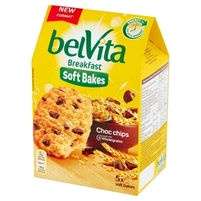belVita Breakfast Ciastka zbożowe z kawałkami czekolady