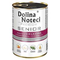 DOLINA NOTECI Premium Senior Karma dla starszych psów bogata w cielęcinę