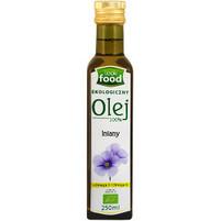 LOOK FOOD Olej lniany 100% Ekologiczny