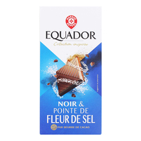 WIODĄCA MARKA Equador Czekolada deserowa z solą morską