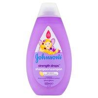 JOHNSON'S Strength Drops Szampon