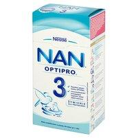 NAN OPTIPRO 3 Mleko modyfikowane w proszku dla dzieci po 1. roku