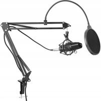YENKEE Mikrofon studyjny z akcesoriami YMC1030