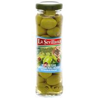 LA SEVILLANA Hiszpańskie oliwki nadziewane pastą z anchovy