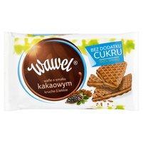 WAWEL Bez dodatku cukru Wafle o smaku kakaowym
