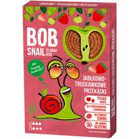 BOB SNAIL Jabłkowo-truskawkowe przekąski
