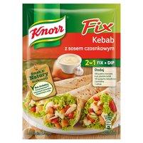 KNORR Fix Kebab z sosem czosnkowym