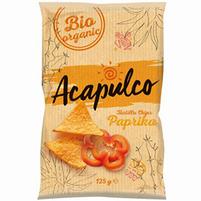 ACAPULCO Nachosy o smaku paprykowym BiO