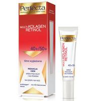 PERFECTA Multi-Kolagen Retinol Krem pod oczy i na powiek dzień i na noc 40+/50+ Silne wygładzenie Redukcja cieni