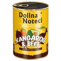 DOLINA NOTECI Superfood Karma dla dorosłych psów Kangur i wołowina