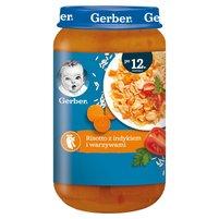 GERBER Risotto z indykiem i warzywami dla dzieci po 12. m-cu