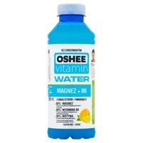 OSHEE Vitamin Water Magnez + B6 Napój niegazowany o smaku cytryny-pomarańczy
