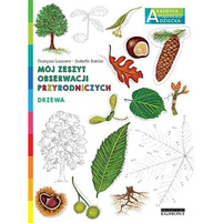 EGMONT Drzewa. Mój zeszyt obserwacji przyrodniczych. Akademia mądrego dziecka (okładka miękka)