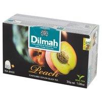 DILMAH Peach Czarna herbata z aromatem brzoskwini (20 tb.)