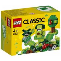 LEGO Classic Zielone klocki kreatywne 11007 (4+)