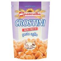 PANEALBA Crostini Minigrzanki chlebowe z czosnkiem