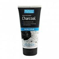 BEAUTY FORMULAS Facial Scrub Oczyszczający peeling do twarzy z aktywnym węglem