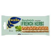 WASA Sandwich Cheese & French Herbs Kanapka (2 sztuki)