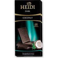 HEIDI Dark Czekolada gorzka z płatkami kokosowymi