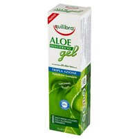 EQUILIBRA Pasta do zębów o potrójnym działaniu żel aloesowy