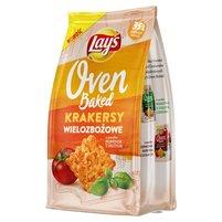 LAY'S Oven Baked Krakersy wielozbożowe o smaku pomidor z bazylią