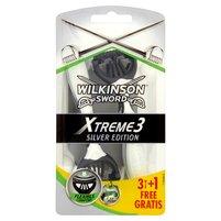 WILKINSON Sword Xtreme3 Silver Edition Jednorazowe maszynki do golenia