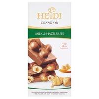 HEIDI Grand'Or Mleczna czekolada z karmelizowanymi orzechami laskowymi