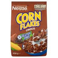 NESTLE Corn Flakes Choco Płatki śniadaniowe o smaku czekoladowym