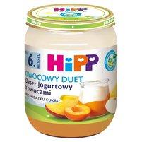 HiPP BIO Owocowy Duet Deser jogurtowy z owocami po 6. miesiącu