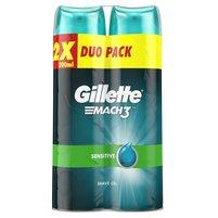 GILLETTE Mach3 Complete Defense Sensitive Żel do golenia dla mężczyzn (2 szt.)