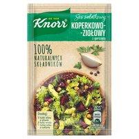 KNORR Natura Sos Sałatkowy koperkowo-ziołowy z gorczycą
