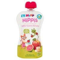HiPP BIO HiPPiS Jabłka-Guawa-Banany Mus owocowy po 6. m-cu