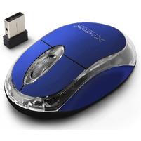 EXTREME Mysz optyczna bezprzewodowa XM105B niebieska