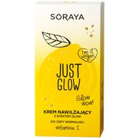SORAYA Just Glow Krem nawilżający z efektem Glow do cery normalnej