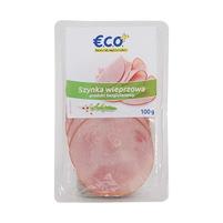 ECO+ Szynka wieprzowa w plastrach