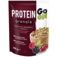 GO ON Protein Granola Czerwona porzeczka Jeżyna Malina
