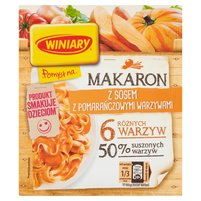 WINIARY Pomysł na... Makaron z sosem z pomarańczowymi warzywami