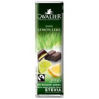 CAVALIER Baton z czekolady deserowej z cytryną i limonką
