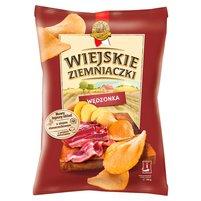 WIEJSKIE ZIEMNIACZKI domowo krojone o smaku wędzonki staropolskiej Chipsy ziemniaczane
