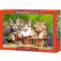 CASTORLAND Puzzle 500 el. mix wzorów