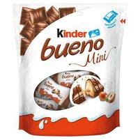 KINDER Bueno Mini Baton w kruchym waflu oblanym mleczną czekoladą