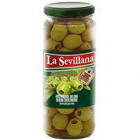 LA SEVILLANA Hiszpańskie zielone oliwki drylowane