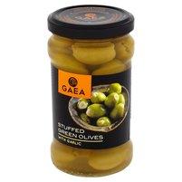 GAEA Zielone oliwki z czosnkiem