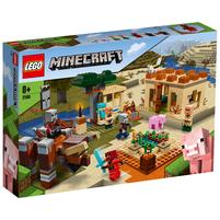 LEGO Minecraft Najazd Złosadników 21160 (8+)